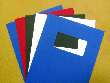 Binding Covers Coloured Card