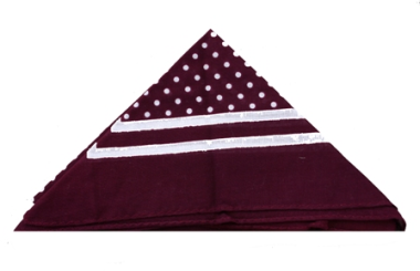 Spotted  Cotton Handkerchief - Various Colours