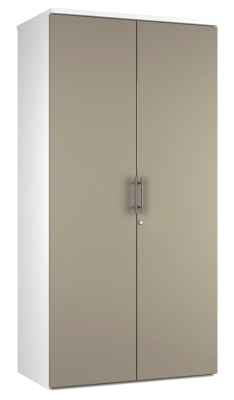 2 DOOR STORAGE UNIT DD19 - Stone V2 (FLAT)