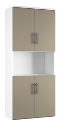 Combinantion Cupboard - Stone (FLAT)