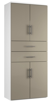 Combinantion Cupboard Variant 2- Stone (FLAT)