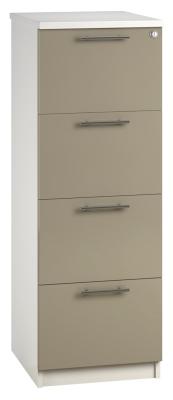 Filing Cabinet 4 Drawer Stone V1 01 (FLAT)