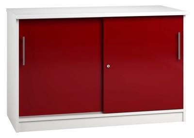 Credenza Unit - Red (FLAT)