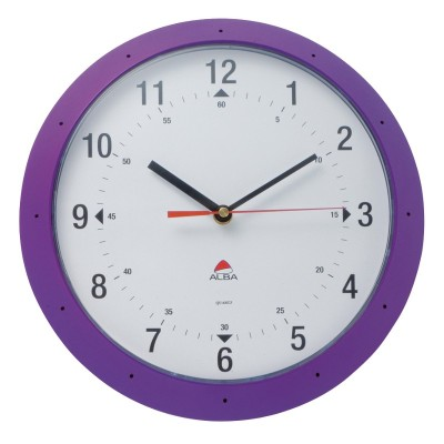 Colouredclockpurple