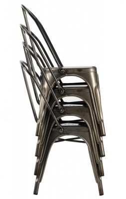 French Bistro Chair Stack
