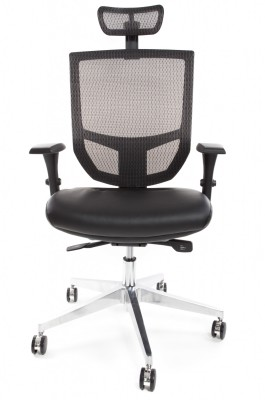EVE Black Leather Seat With HR Front - Copy