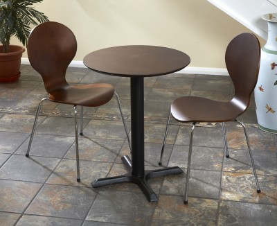 Cafe Mile Small Round Wenge 2801
