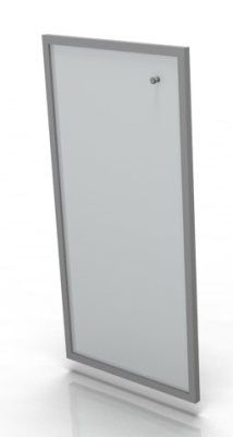 Single Medium Glass Door