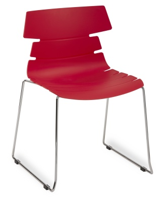 Hoxton Side Chair Frame B 360001 RED