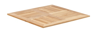343243 SQ70 Teak Teak Table Top
