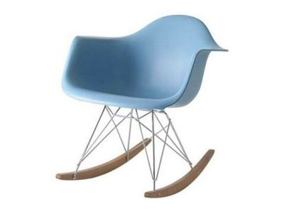 Sky Blue Rocking Chair