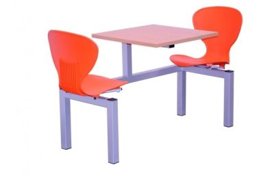 Two Seater Orange Dining Unit