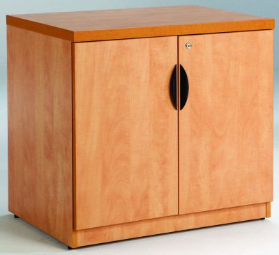 Prime Low Office Storage Cupboard In A Rich MFC Finish