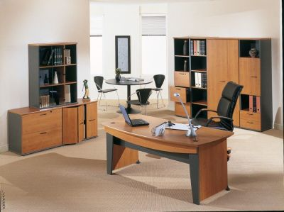 Stylish Executive Furniture Range Created Using The Jazz Office Furniture Range