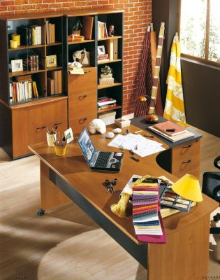 Stylish Office Space Created Using The Jazz Executive Office Furniture Range