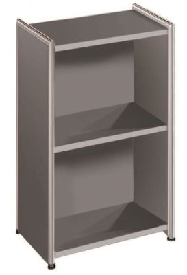 Artoline Low Bookcase Unit Narrow In Anthracite
