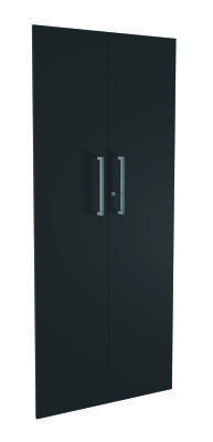 Zed Style High Cupboard Doors In Anthracite