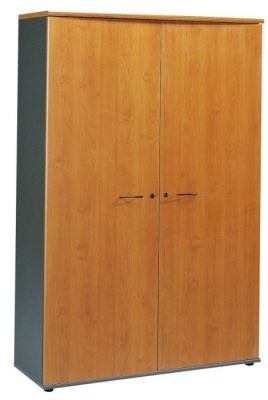 Stylish Jazz Extra Wide Cupboard With Internal Shelves In A Alder Finish