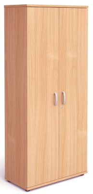 Mansfield 2000mm Tall Two Door Cupboard In Beech