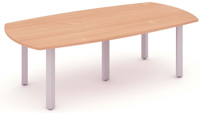 Mansfield 2400mm Meeting Table In Beech