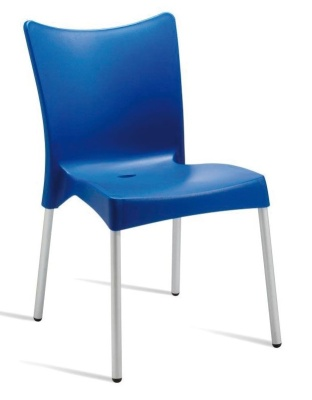 Zapster Outdoor Poly Chair Blue