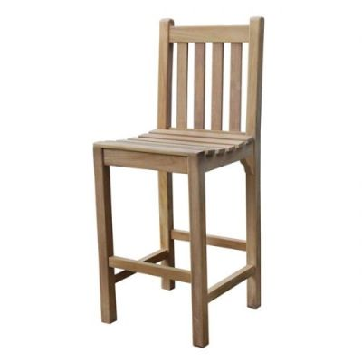 Dover Outdoor Wooden High Stool