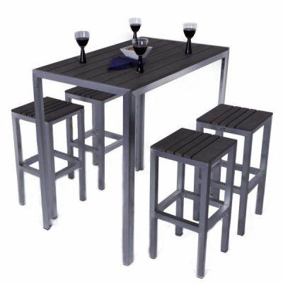 Ryeland Bar Height Outdoor Dining Set
