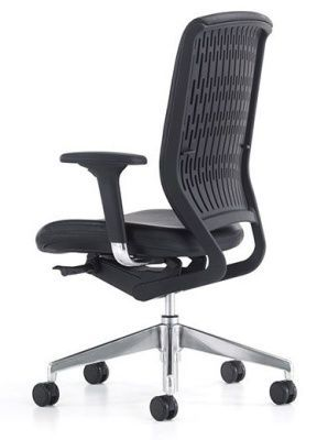 Evolve Contemporary Operator Chair With Fire Retardent Seat In Black