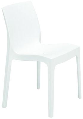 Presto Contemporary Poly Chair In White