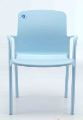 Titan Plus Light Blue Poly Chairs