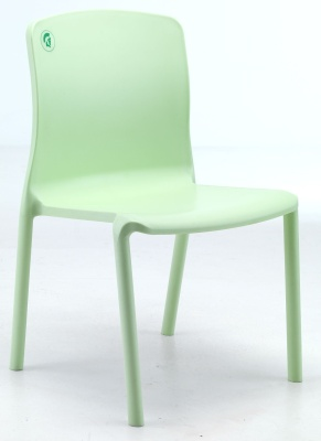 Titan Plus Lime Green Hospital Poly Chair