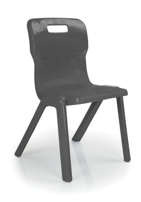 Titan Plus Anti Microbial Chair In Charcoal