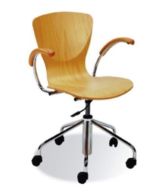 Bingo Operator Chair With Armrests Attached