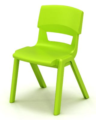 Postura Plus Classroom Chair Lime Green