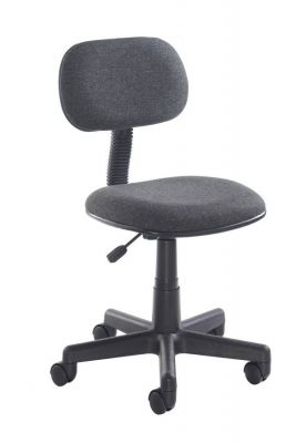 Marina Black Typist Seat With Gas Lift