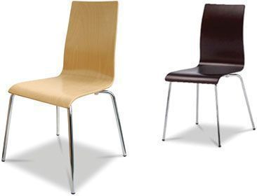 Skipton Chairs In Natural Or Wenge Finish