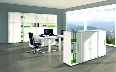 Remo Cabinets In Office
