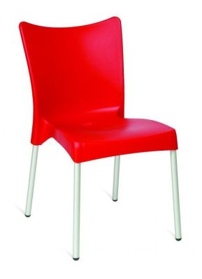 Red Outdoor Plastic Seating