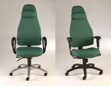 High Back Obusforme Chair