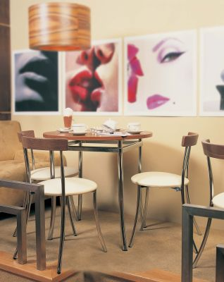 Anca Bistro Chairs Installation 2