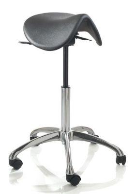 Techno PU Saddle Stool