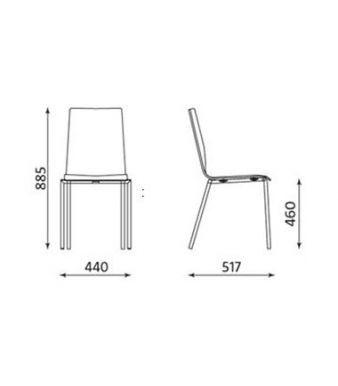 Squerto Chair Dims