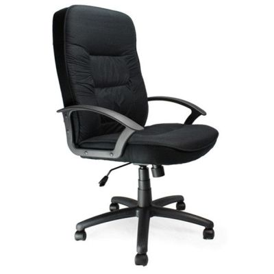Gloucester Managers Executive Chair Blacdk Fabric