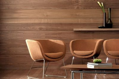 Earth Tones Rest Area With Karma Brown Tub Chairs And Coffee Table