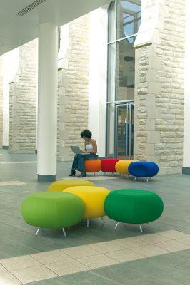 Pebble Multi Colour College Seating