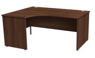 Gm Left Hand Corner Desk In Walnut