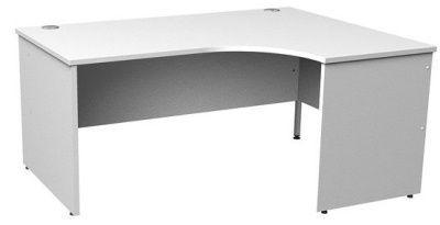 Gm Right Hand White Corner Desk