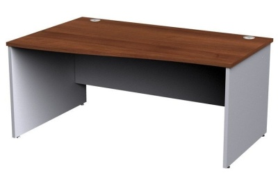 Duplex Left Hand Wave Desk