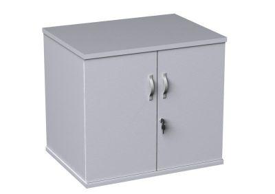 Duplex White Low Cupboard
