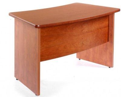 Contessa Cherry Veneer Executive Desk Return